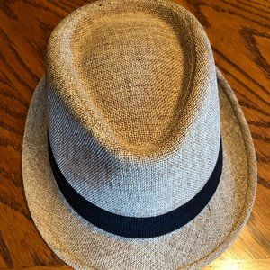Urban Outfitters BDG Straw Hat with Black Trim
